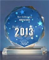 KCR Industreis Best of Fort Worth Manufacturing Award
